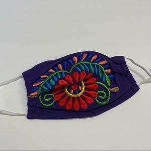 BUY 1 Get 1 Free Face Mask Mexican Embroidered